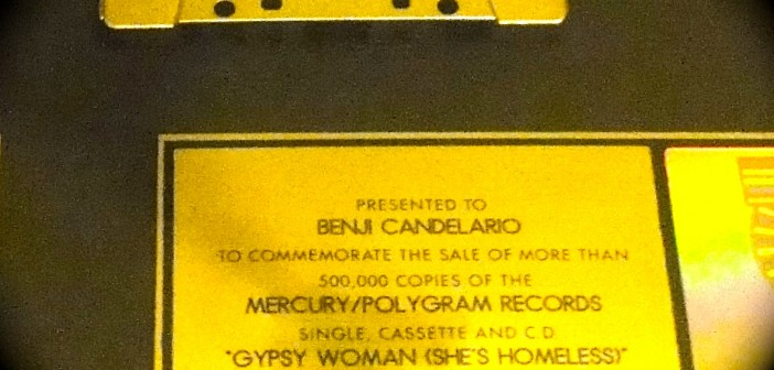 benji candelario, commemorate sale, mercury, polygram records, gypsy woman