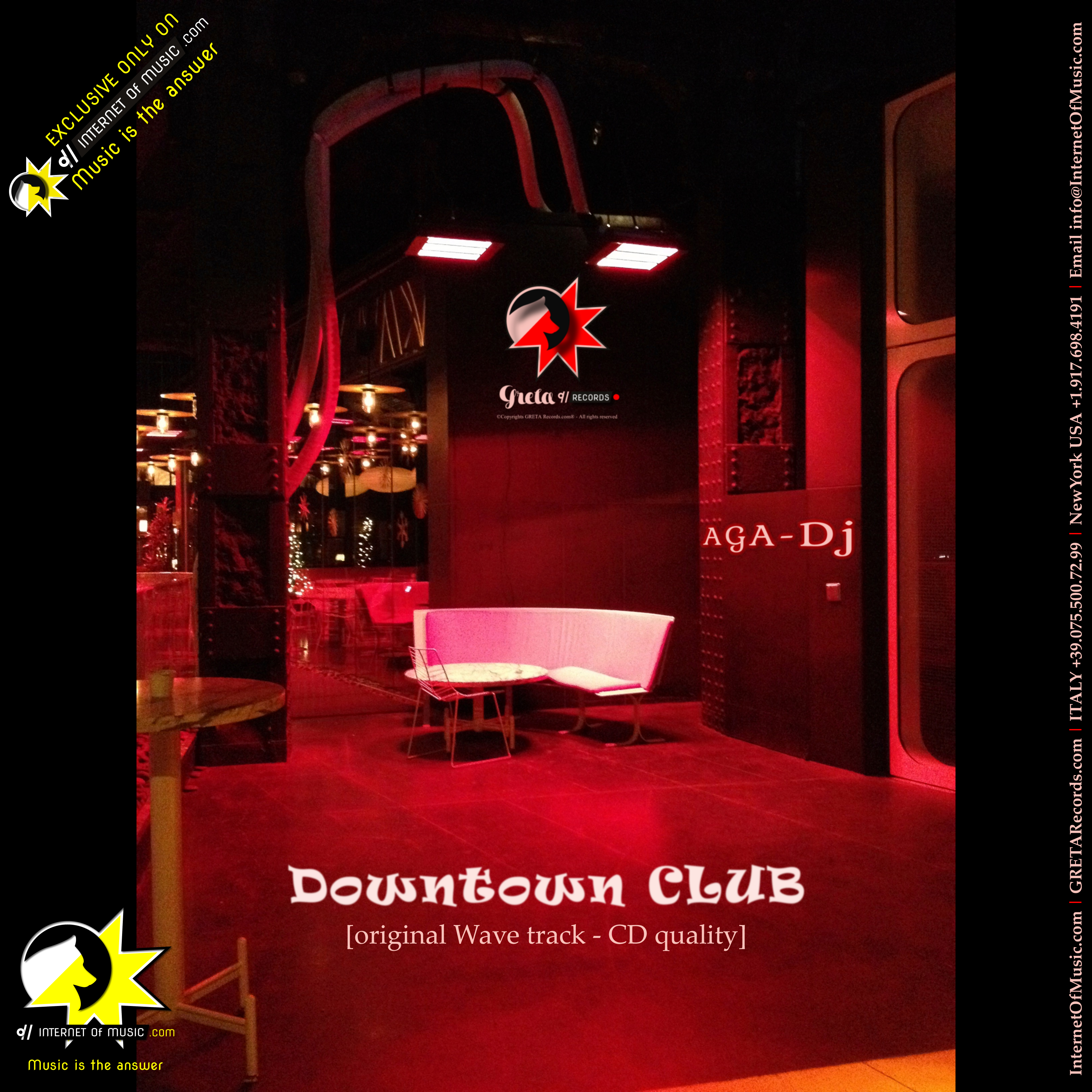 Downtown club aga dj deep house internet of music com for House music mp3