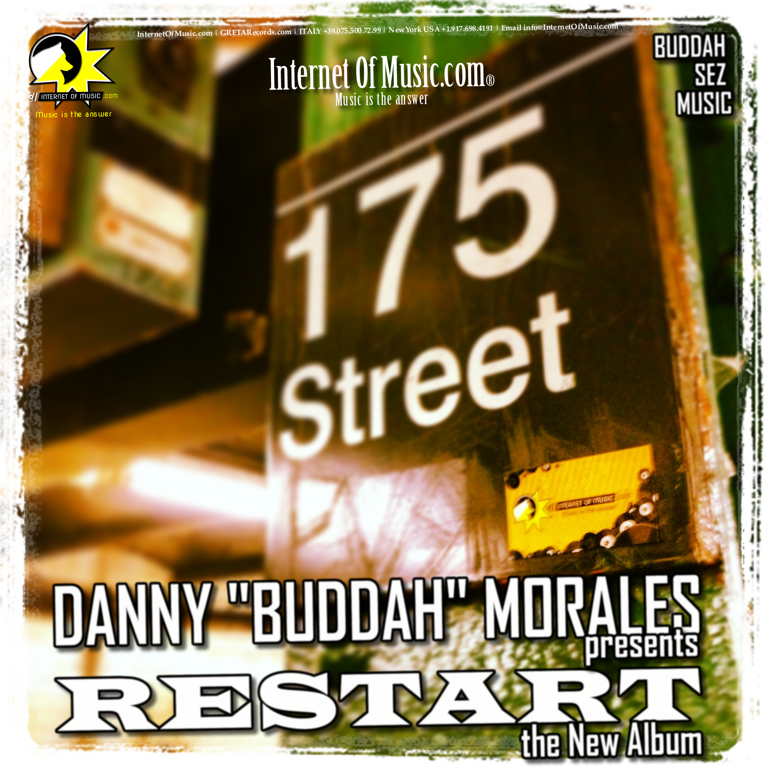 Danny buddah morales presents restart the new house for House music albums