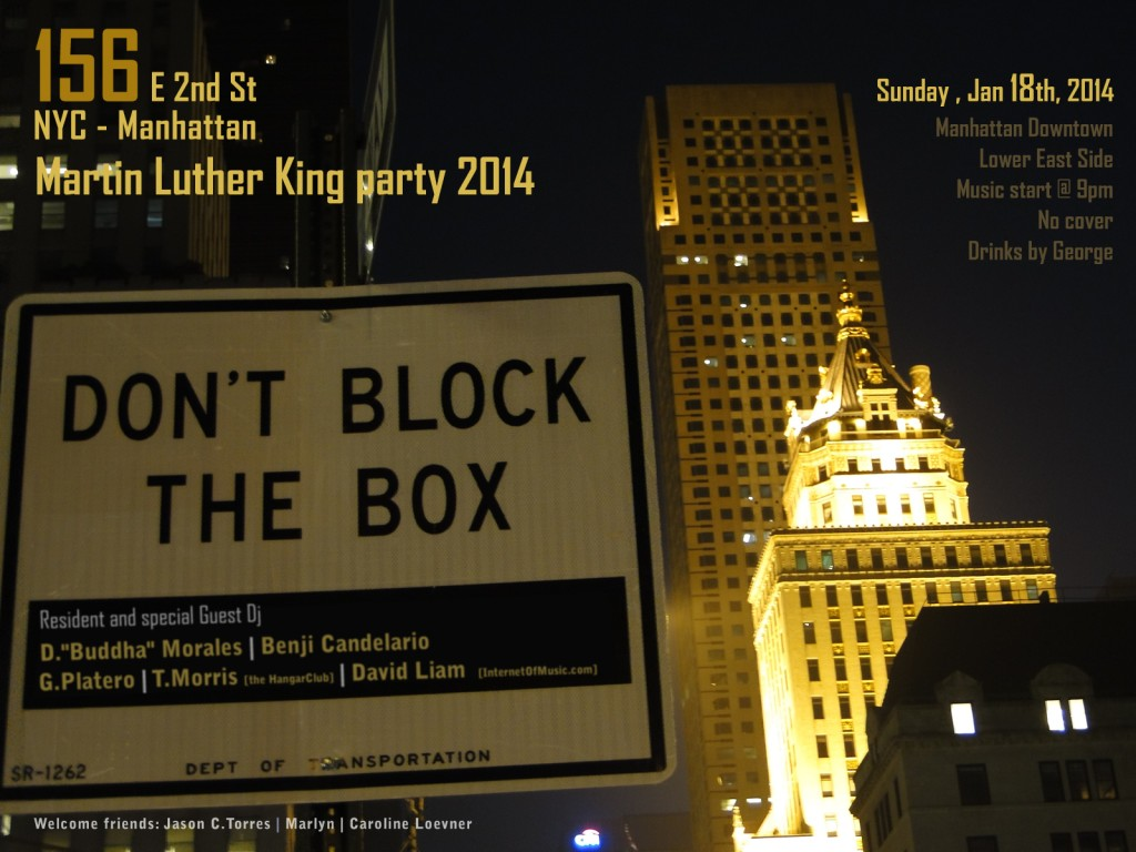 Martin Luther King party in New York
