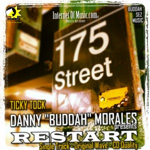 ticky tock,danny buddah morales,house music single.