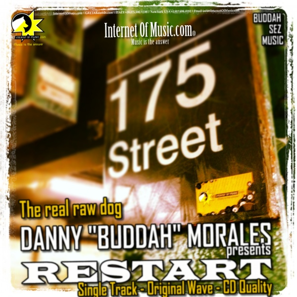 The real raw dog,Danny Buddah Morales,house music single.