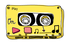 internet of music - streaming player - cassette