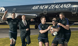 air new zealand, music tour.